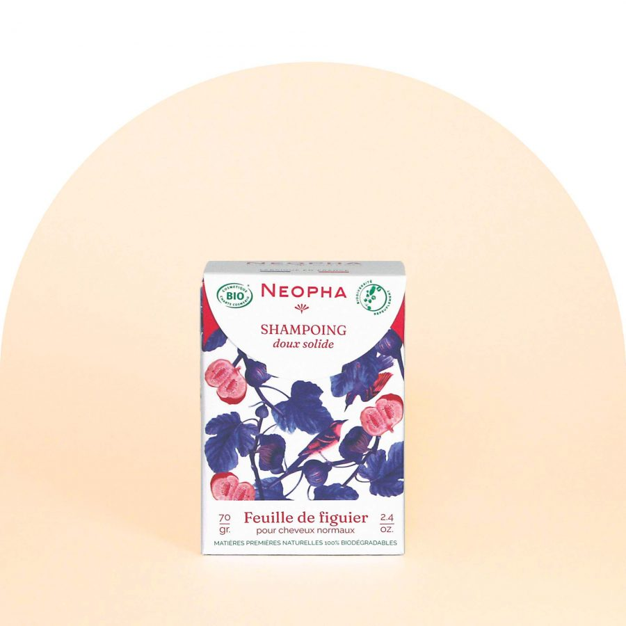Neopha Shampoing doux feuille de figuier face