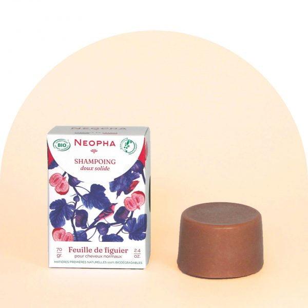 Neopha Shampoing doux feuille de figuier étui + produit