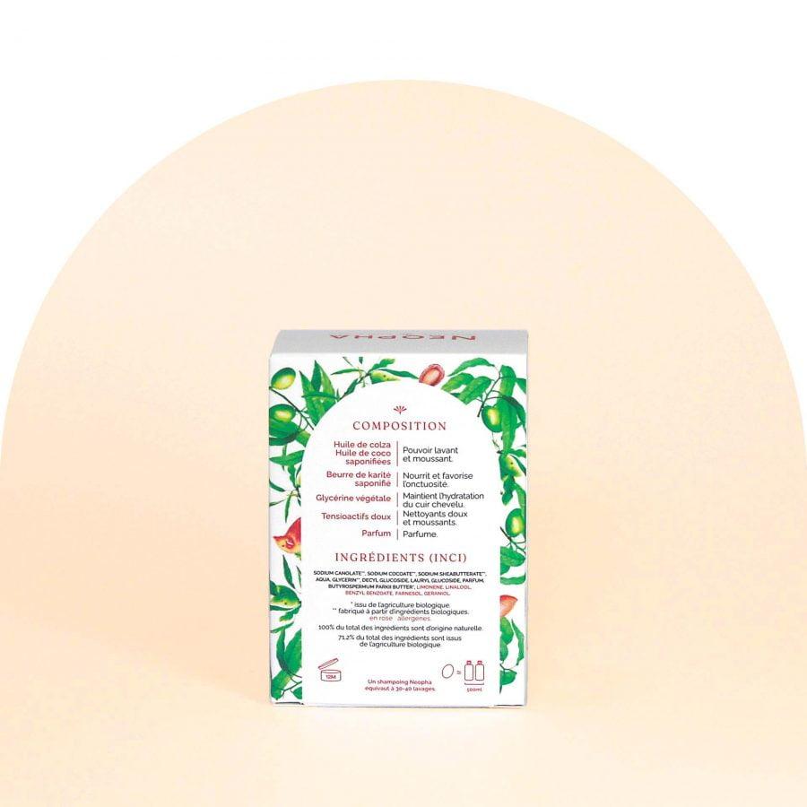 Neopha Shampoing doux lait d'amande dos