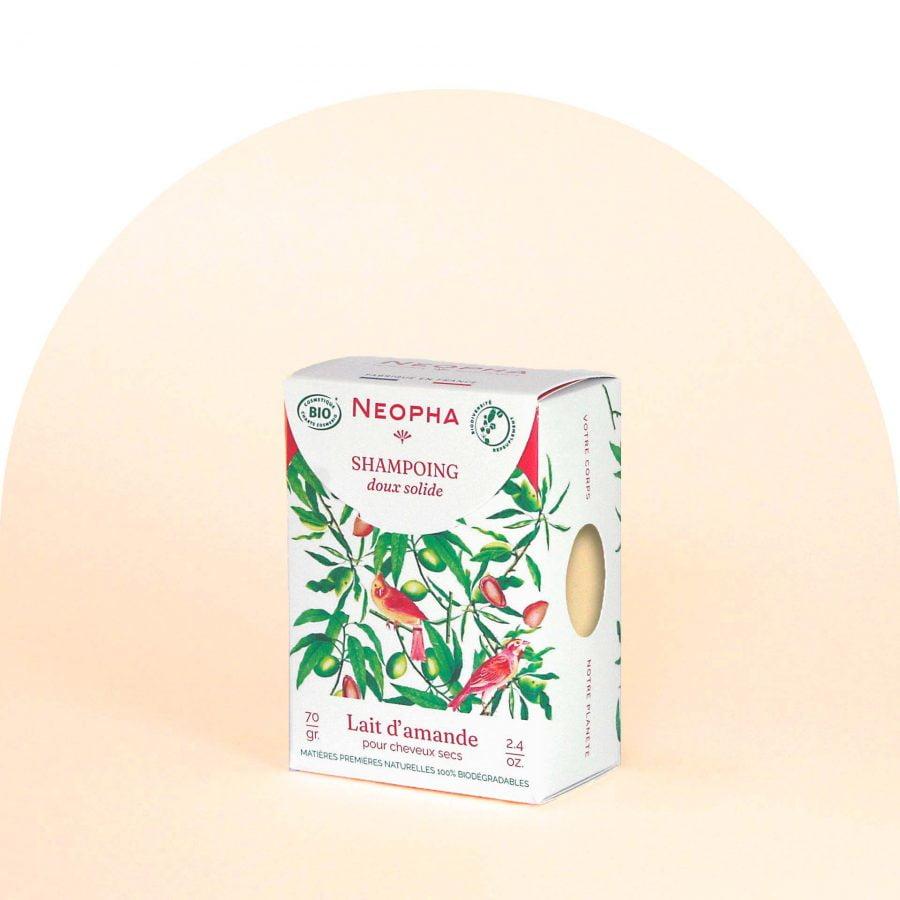 Neopha Shampoing doux lait d'amande 3_4