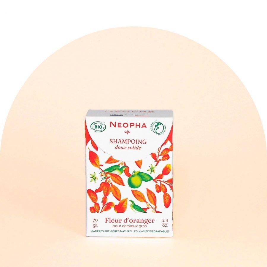 Neopha Shampoing doux fleur d'oranger face