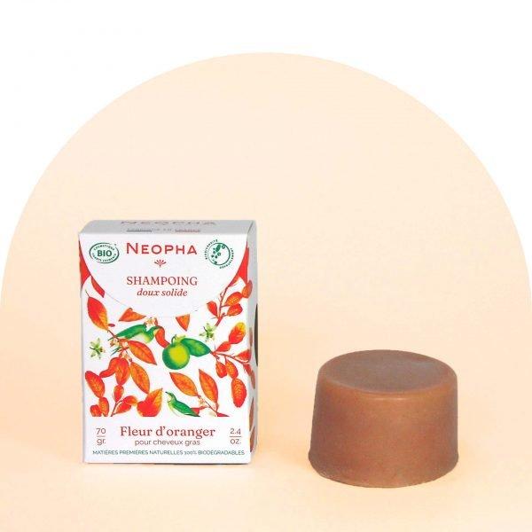 Neopha Shampoing doux fleur d'oranger étui + produit