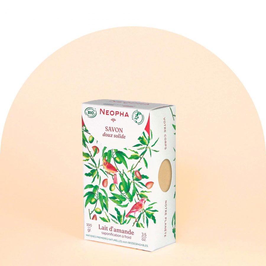 Neopha Savon doux lait d'amande 3_4