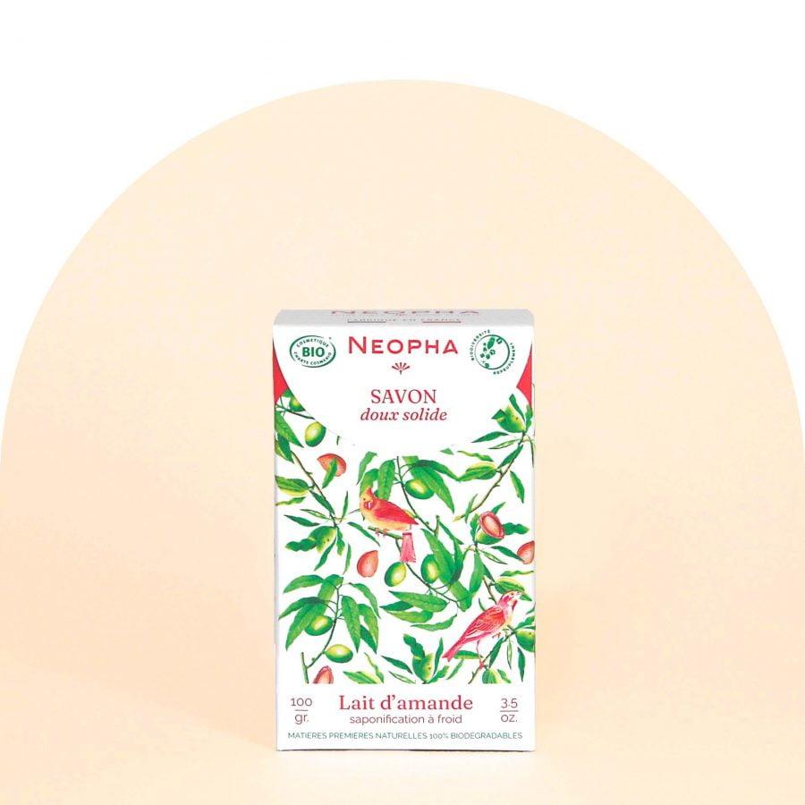Neopha Savon doux lait d'amande face